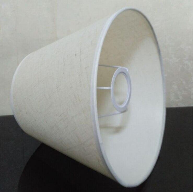 LED Lamp Shade Accessories E27 Linen Cloth Lamp   Cloth Lamp Shade