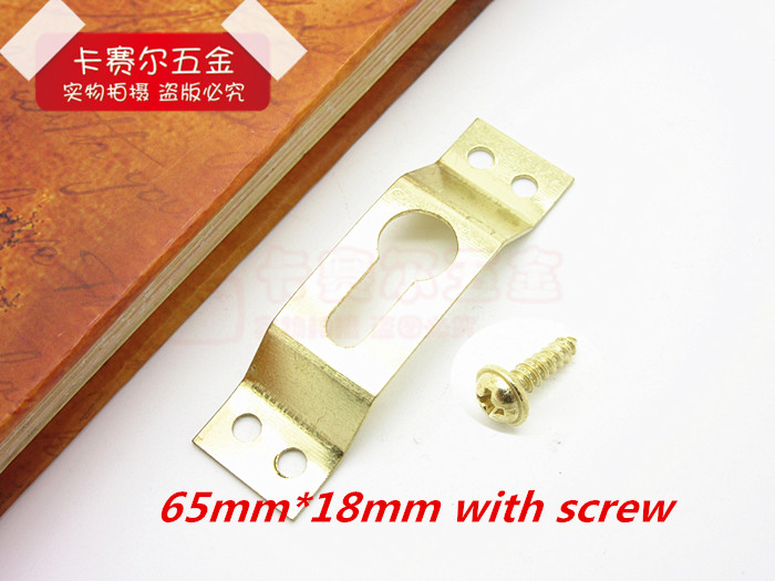 20pcs brass picture hanger hardware frame accessories picture frame hooks hanging photo oil thickened hooks with