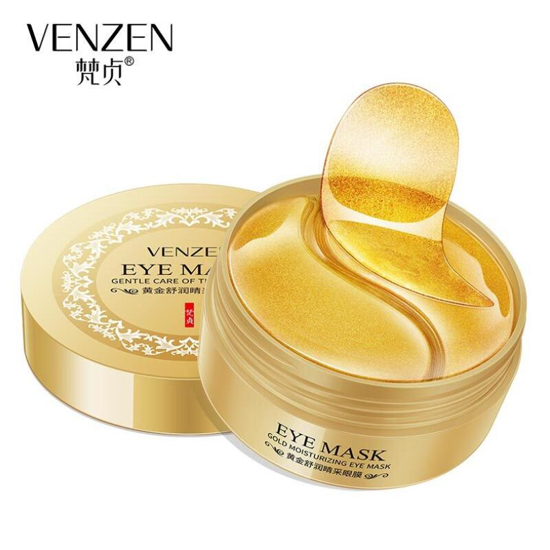 30 Pairs Gold Eye Mask Nourishing Moisturizing Hydration Improves Skin Dryness Gentle Repair Eye Skin Care