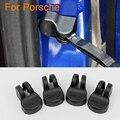 4 шт./лот стайлинга Автомобилей Дверь Проверьте Arm Защитная Крышка Для Porsche Cayenne Cayman Boxster Porsche 911