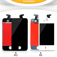 High Quality AAA Tested LCD Display For iPhone 4S Screen Replacement With LCD Digitizer Touch Screen Assembly Complete