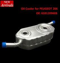 Хорошее Качество Масляный Радиатор для PEUGEOT 206, OE: 6501209606 автомобилей для укладки