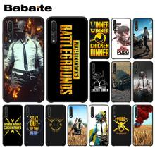Babaite Playerunknown の Battlegrounds PUBG 電話ケース huawei 社 P20 Mate20 Lite 名誉再生 8A 8C 7C 5A Y6 Y5 II Psmart(China)