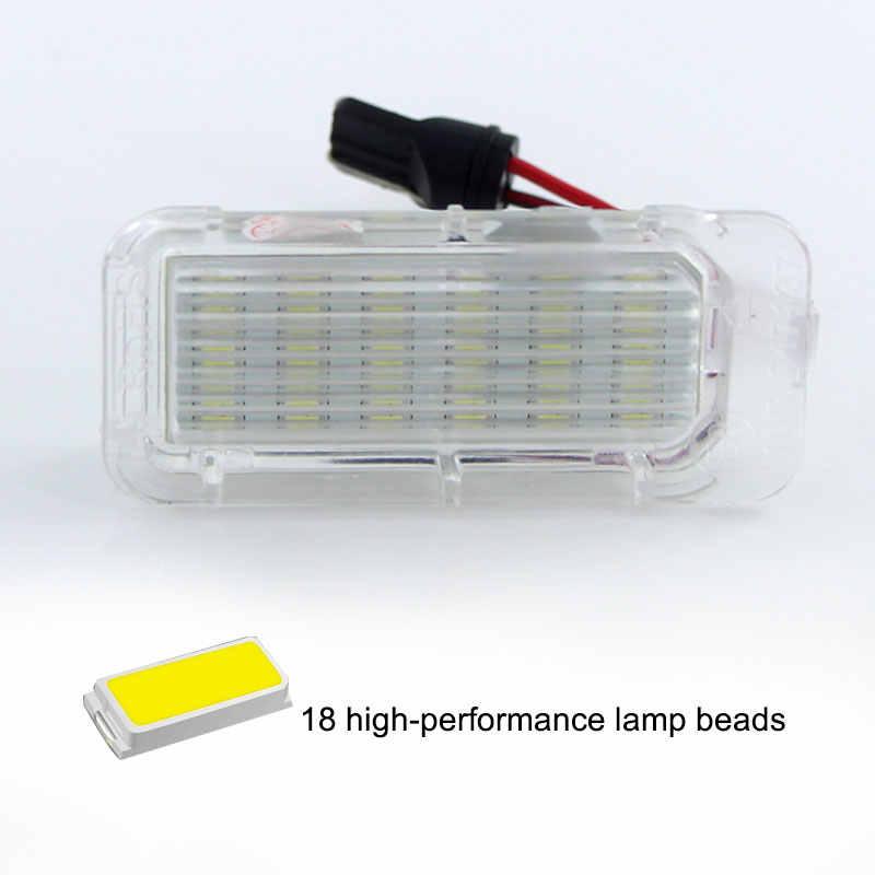 2 قطعة CANbus LED رقم لوحة ترخيص ضوء OEM لمبة بديلة لفورد فوكس 5D فييستا S-ماكس C-ماكس كوغا مونديو غالاكسي MK3
