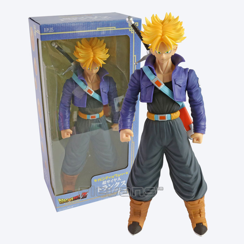 ФОТО Dragon Ball Z Super Saiyan Trunks Super Big 41cm High Quality PVC Action Figure Collectible Model Toy