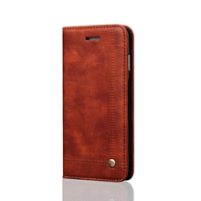 For iPhone 7 Case Cover PU Leather Dirt-Resistant Wallet Mobile Phone Bags Flip kickstand Cases For iPhone 7 plus