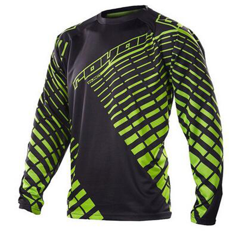 Motocross Jersey T-Shirt Downhill Long-Sleeve 100%Bike MX DH Men Quick-Dry