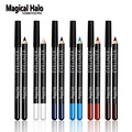 12pcs/set Magical Halo Colorful Eyeliner Waterproof Eyeliner Pen Eyeshadow Long Lasting Soft Eye Liner Pencil Gift Set Kit Tools