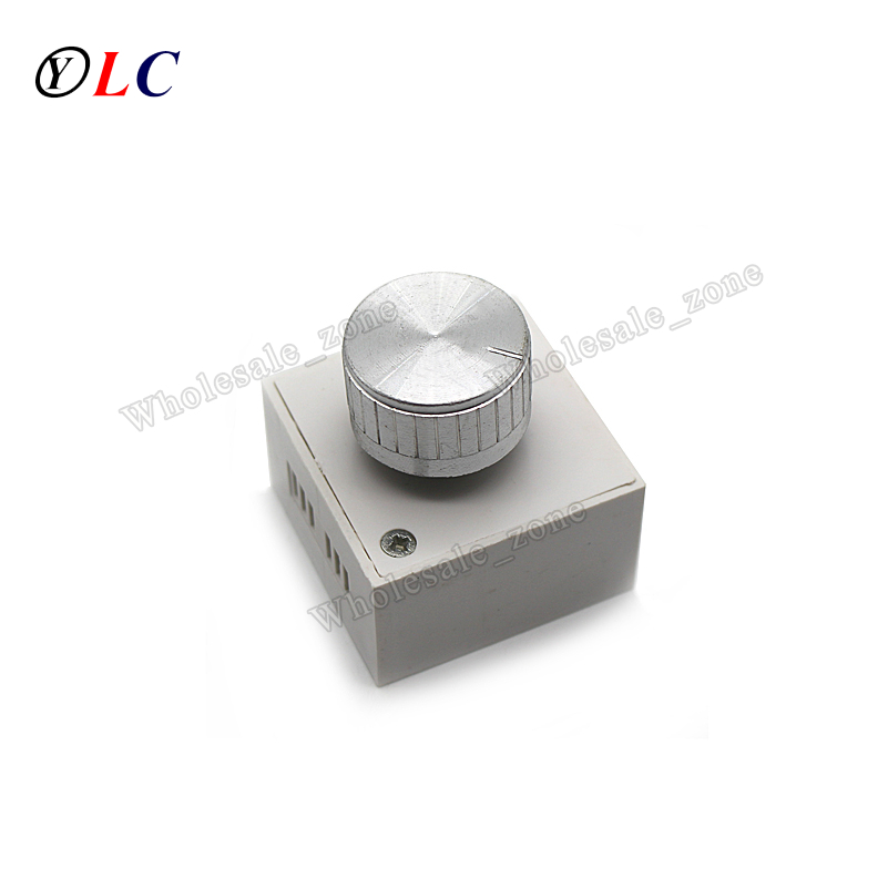 25W To 120W 1A 220V Bedside Table Lamp Dimmer Hotel Desk Lamp LED Dimmer Knob Switch