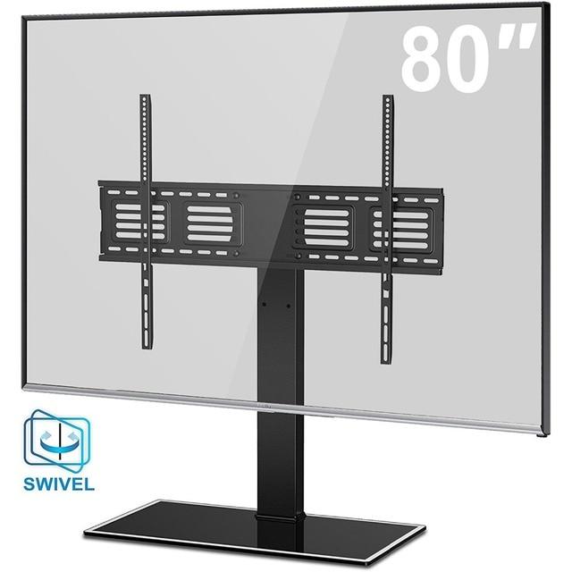 Fitueyes universal de mesa giratorio tv soporte base para for Mesa para tv de 50 pulgadas