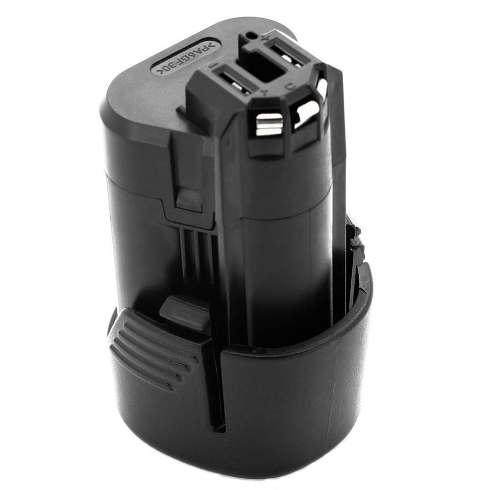 1pcs 10.8V 2000mAh Rechargeable Battery Pack Power Tools Li-ion Battery For Bosch2 607 336 014,2 607 336 BAT411 VHK19 T0.4 5000mah 18v rechargeable lithium ion power tool battery replacement for bosch bat609 bat618 2 607 336 169 2 607 336 170 bat618g