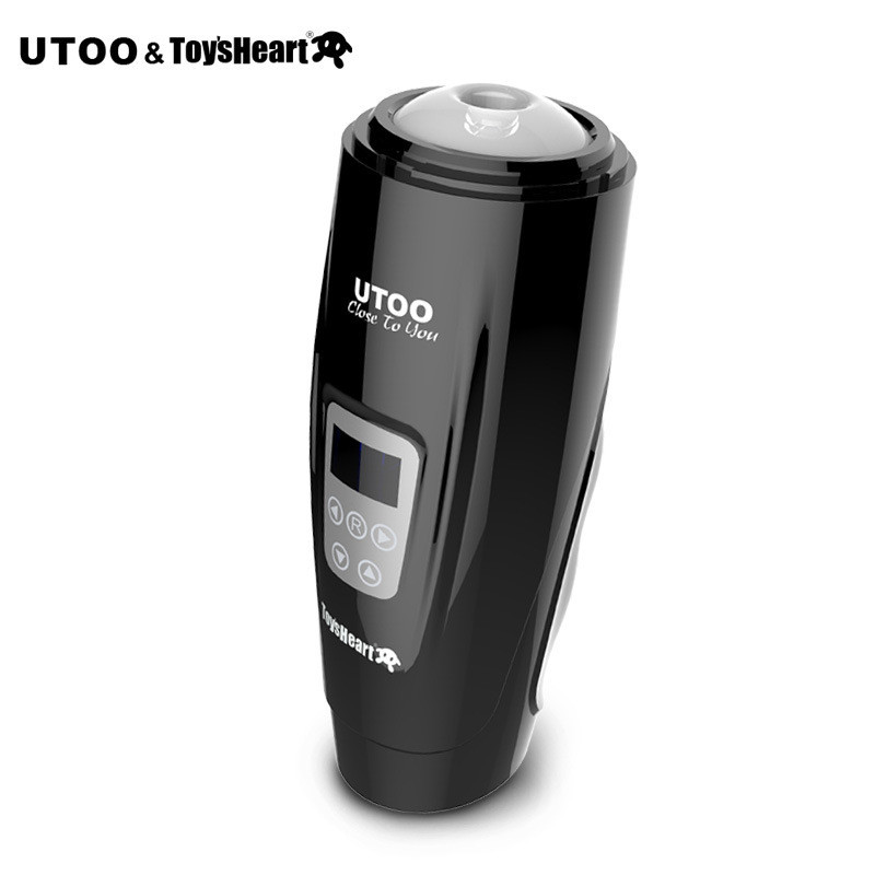 Original UTOO Hurricane Automatic Electric Male Masturbation cup masturbators telescopic Sex machine Adult sex toys for men utoo master stormwind masturbators 10 speed automatic 360 rotation pussy electric male masturbation oral sex toys for man erotic