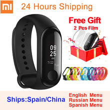 Original Xiaomi Mi Band 3 Smart Wristband miband 3 fitness Heart Rate Tracker 0.78 inch OLED Push Message Call xiaomi band 3