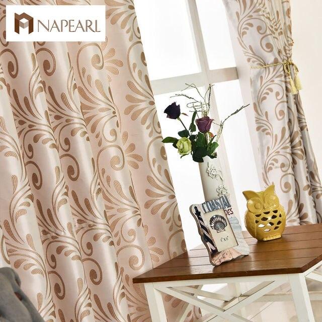 Moderno curtain home pannello di soggiorno europeo tende tende ...