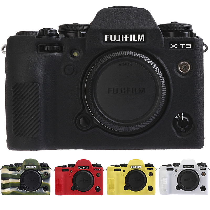 Ableto Lightweight Camera Bag <font><b>Case</b></font> Protective Cover for Mirrorless Digital camera <font><b>fujifilm</b></font> <font><b>X</b></font>-<font><b>T3</b></font> XT3 XT-3 camera image