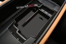 Для левой рукой диск! 1 * черный интерьер автомобиля подлокотник консоли центральной контейнер для хранения Box держатель для BMW 5 серии G30 2017 2018