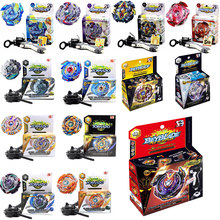 New Spinning Top Beyblade BURST B48 B66 B59 B79 With Launcher And Original Box Metal Plastic Fusion 4D Gift Toys For Children(China)