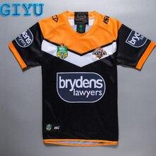 74b83238e07 Giyu 2018 2019 NRL High Quality Wests Tigers Rugby Jerseys Size S-3XL
