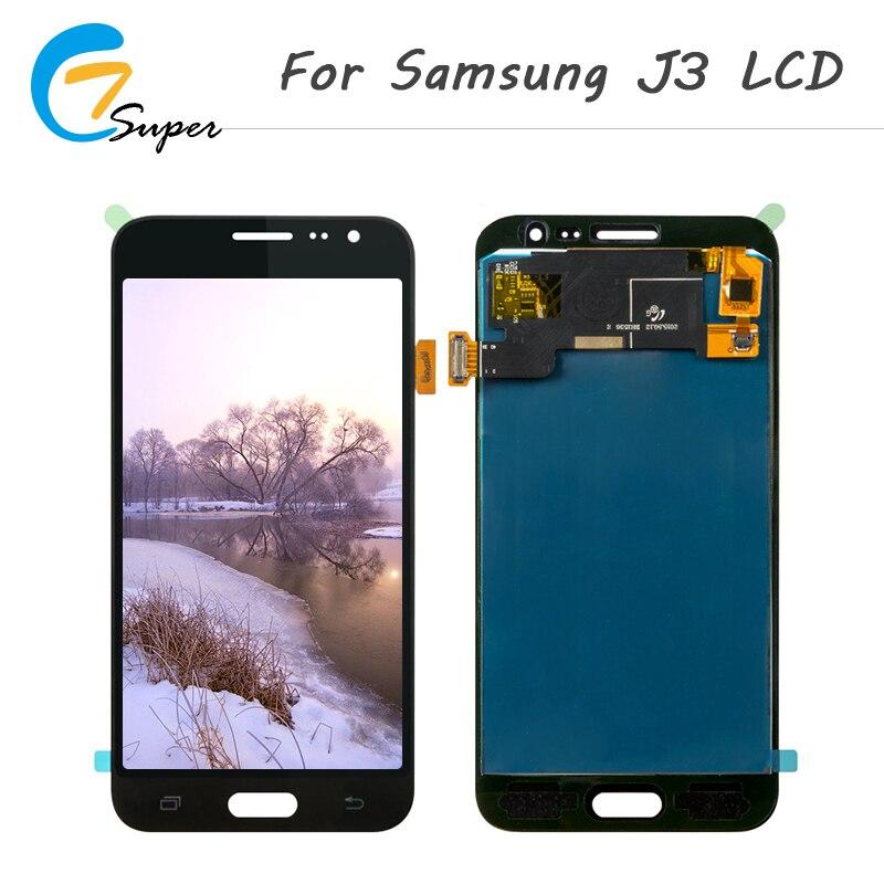 1 pcs/lot Réglage de La Luminosité LCD Affichage Pour Samsung Galaxy J3 2015/2016 J5 2015/2016 Affichage Écran Tactile digitizer Assemblée