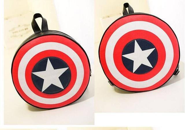 Captain America Shield Backpack/School Bag
