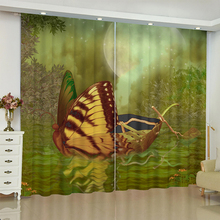 nightmare curtains for window Dark style butterfly Batman blinds finished drapes window blackout curtains parlour room blinds nightmare curtains for window dark style butterfly batman blinds finished drapes window blackout curtains parlour room blinds