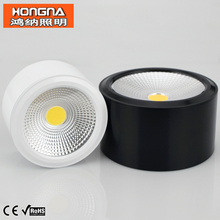 Free Shipping Surface Mounted LED Downlight COB 3W 7W 10W AC220V Downlight Household & Commercail Lighting