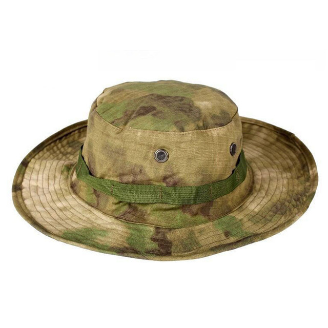 479b41adf Bucket Hat Military Tactical Cap SWAT Outdoor Camping Camouflage Cap Boonie  Hat Men Women Sport Paintball Hunting Fishing Gorras-in Bucket Hats from ...