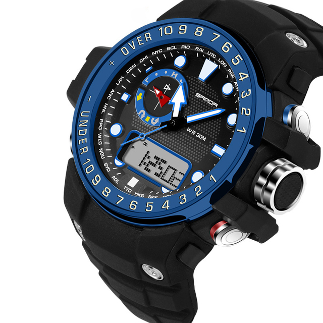 Top Brand Mens Sports Watches LED Digital Watch Fashion Outdoor Waterproof  Men's Wristwatches Relogios Masculino Reloj Hombre