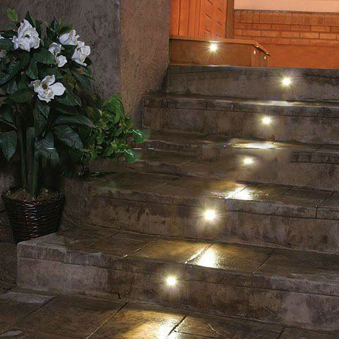 Beautiful 12V LED Floor Lamp Recessed Step Wall Light IP65 Mini Inground Underground Ground  Patio Stairs Lighting For Outdoor F101A  In Path Lights From Lights ...
