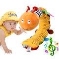 Animales Anillos Sonajeros Campana de Mano Del Bebé Juguetes de Peluche Juguetes Para Bebés Bebé Desarrollo Regalos de Juguetes de Peluche Brinquedos Bebes