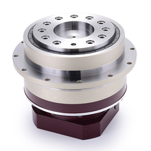 7 аркмин фланец выход орбитальный редуктор, коробка передач 20:1 до 100:1 для 60 мм 200 Вт AC Серводвигатель входной вал 11 мм