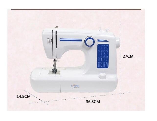 Máquina de costura sartório Roupas ajuste da Velocidade de Máquinas de processamento de eletrodomésticos Máquina de Costura Plana - 6