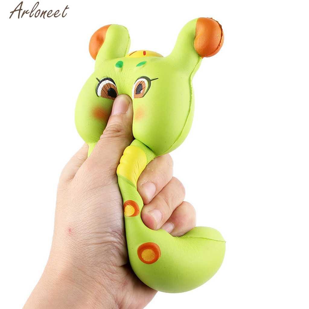 2019 Mini urocza Caterpillar Super powolne rośnie dzieci zabawka odprężająca zabawki prezent 19Mar08 P40