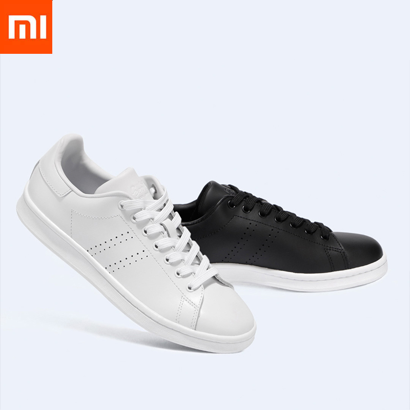Xiaomi FreeTie City Classic Leather Skateboard Shoes High Quality Comfortable Anti slip Fashion Leisure Shoes For
