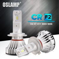 Oslamp Auto LED H4 Headlight For Car 6500K 72W 6000LM H7 Led Car Bulbs All In