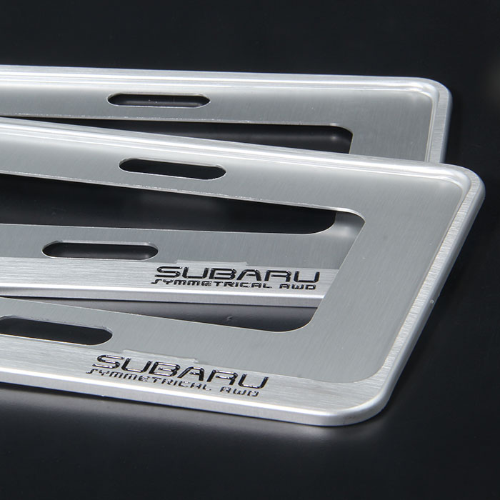 u forester xv outback legacy license plate frame license plate frame from reliable frame distributors suppliers on guangzhou mate subaru decoration shop