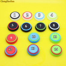купить 2 pcs Silicone Analog  Stick Grips Cover for PlayStation 4 PS4 Pro Slim for PS3 Controller Controller Caps for Xbox 360 One дешево
