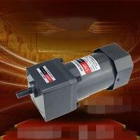 110V 200V/220V/230V 380V AC Vertical Micro Gear Motor Speed 200W6 IK200GU Constant Speed High Torque 6GU 7RPM 450RPM