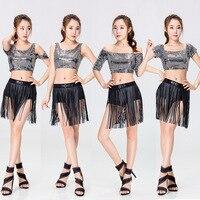 Sexy G Kobiet High School Cheerleader Kostium Dziewczyna sportowa taniec Klubów Nocnych Jednolite Party Outfit Top i Spódnica Pomponem