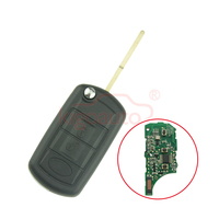מפתח להעיף 3 כפתור 434 Mhz HU101 מפתח בלייד עם שבב ID46 עבור לנדרובר ריינג 'רובר ספורט 2005 2006 2007 2008 2009 kigoauto LR3