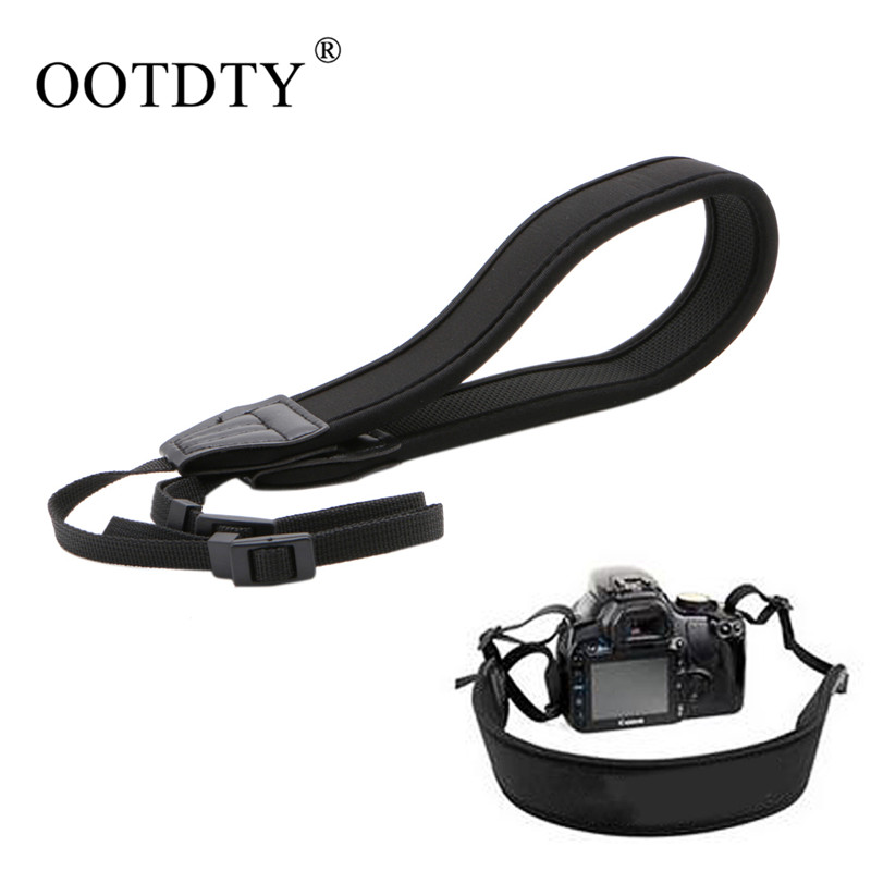 OOTDTY Camera Strap High Elastic Belt Neoprene Shoulder Neck Strap for Canon for Nikon