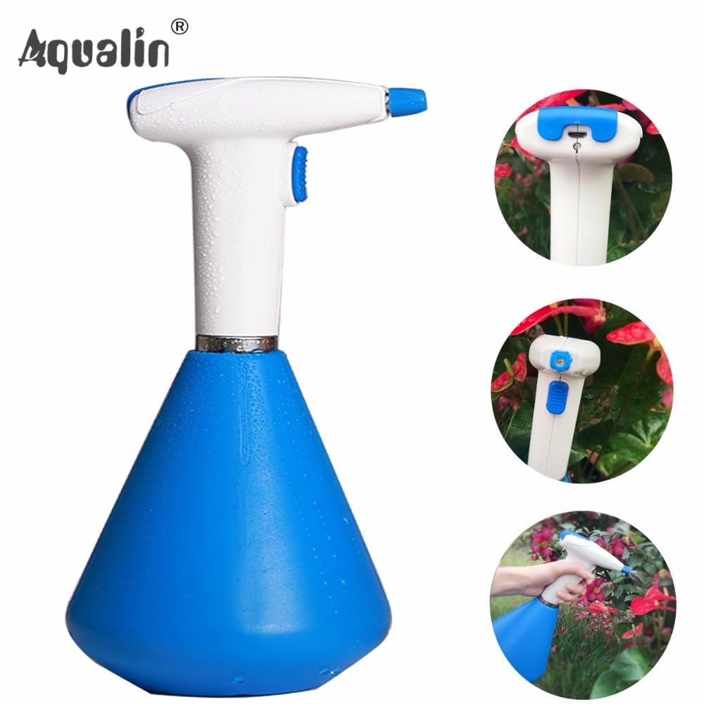 New Arrival Garden 1L Electric Sprayer Adjustable Pneumatic Sprayer Lithium Portable Pressure Watering Pot #23803