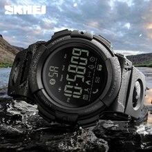 SKMEI Bluetooth Smart Watch Fashion Outdoor Pedometer Calories Remote Camera Sports Watches 50M Waterproof Digital Wristwatches