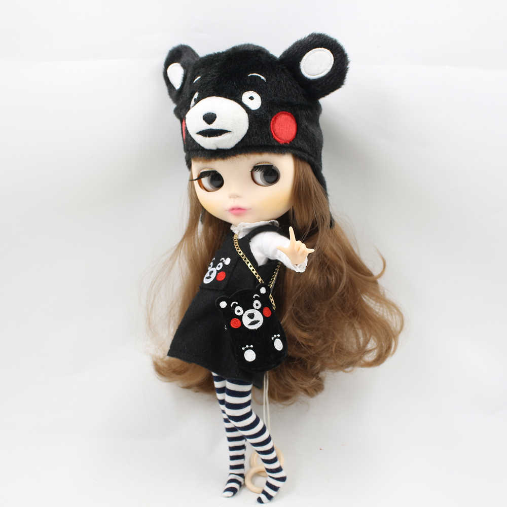 Fortune Days Blyth doll A set of Kumamon clothes comfortable warm and cute clothes for the doll Factory Blyth