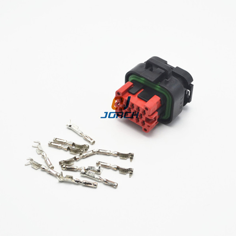 1 Set ECU 14Pin Tyco AMP Female Waterproof Automotive Connector Plug 776273-1 With Terminals 770520-1