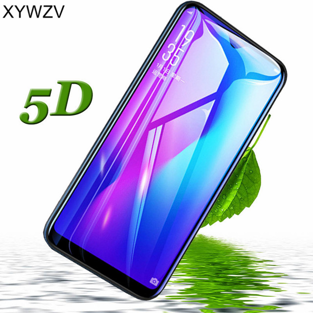 XYWZV 5D Full Glue Tempered Glass For OPPO R17 Pro Screen Protector For OPPO R17 Pro Protective Film For OPPO R17 Pro Glass Film