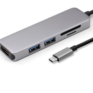 Image 3 - Thunderbolt 3 dock Usb c to HDMI/USB3.0*2/SD/TF multifunction hub for Mac Book Pro 2018 or Other Type C devices.