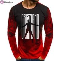 92802bf01 2019 Hot Sale New Tee Ronaldo 7 Print Men Swag T Shirt Camouflage Hip Hop  Cristiano