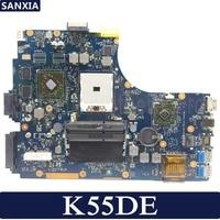 Kefu k55de 노트북 마더 보드 asus k55de a55dr k55dr k55d k55n k55 테스트 오리지널 메인 보드