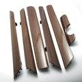 OEM 6 Unids Puerta Recortar Dash Panel Conjunto de Madera de Color para VW Jetta MK6 Vento TDI NUEVO 16D 858 415 SG9 16D858415SG9